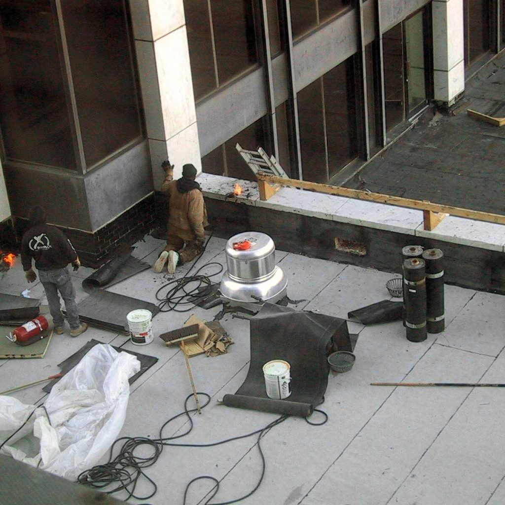 Commercial roofing in conroe