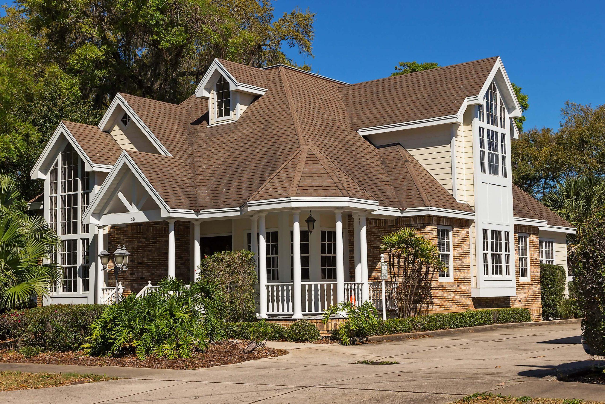 amazing finished roof